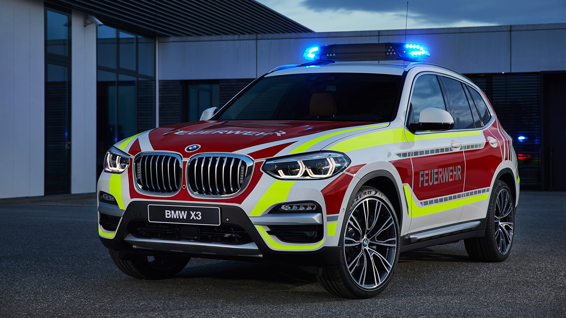 Image Bmw Tuning Fire Engine 2018 X3 Xdrive20d Feuerwehr