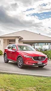 Papel de Parede Desktop Mazda Vermelho 2017 CX-5 Akera Carros