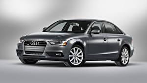 Bilder Audi Graues Metallisch  automobil