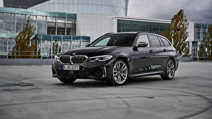 Bilder BMW Kombi Grau 2019 M340i xDrive Touring Worldwide Autos