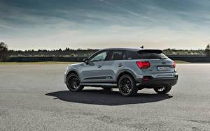 Hintergrundbilder Audi Softroader Grau Metallisch Q2 35 TFSI S line, 2020 auto