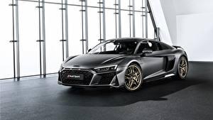 Fotos Audi Carbon Graue R8, V10, Decennium auto