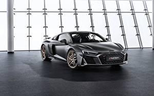 Hintergrundbilder Audi Carbon Graue R8, V10, Decennium auto
