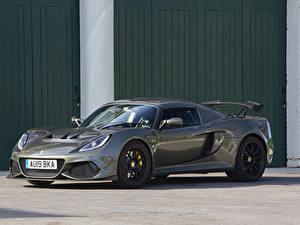 Hintergrundbilder Lotus Graue Metallisch 2018-19 Exige Sport 410 automobil