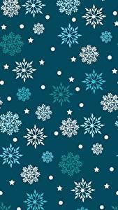 Hintergrundbilder Textur Schneeflocken
