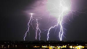 Hintergrundbilder Himmel Blitze
