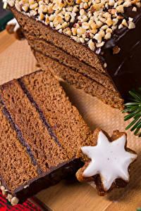 Hintergrundbilder Neujahr Backware Kekse Schokolade Torte Stück das Essen