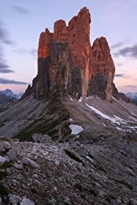 Bilder Gebirge Italien Felsen Dolomites