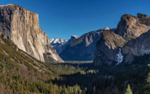 Hintergrundbilder USA Park Berg Wald Landschaftsfotografie Yosemite Felsen