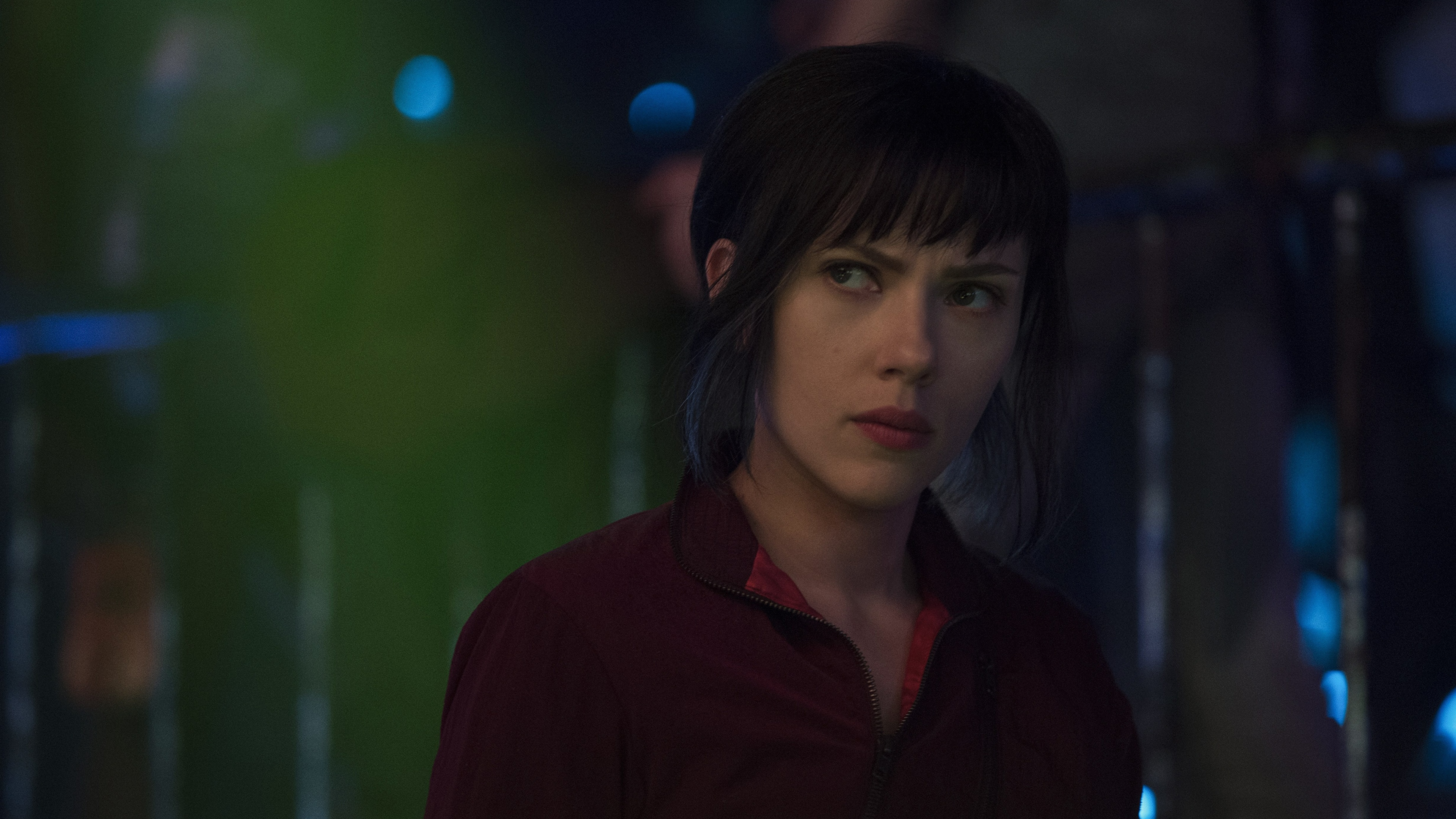 Image Scarlett Johansson Ghost In The Shell Young Woman 3840x2160
