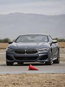 Bilder BMW Grau 2018 8-Series 2019 M850i xDrive 8er G15 Autos