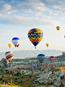 Images Turkey Parks Aerostat Rock Goreme national park