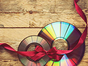 Fotos Bretter Schleife Geschenke Kreise Disk