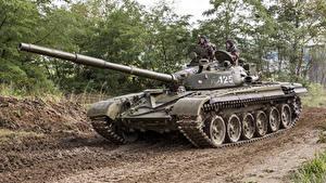 Bilder Panzer T-72 Russischer Heer