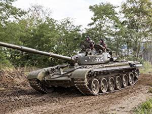 Bilder Panzer T-72 Russische Heer