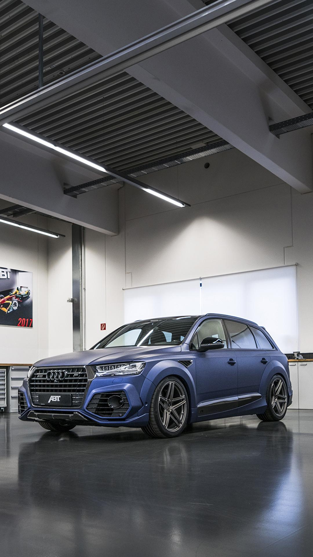 Fondos De Pantalla 1080x1920 Audi 2017 18 Sq7 Abt Vossen
