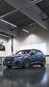 Fotos Audi Blau 2017-18 SQ7 ABT Vossen Autos
