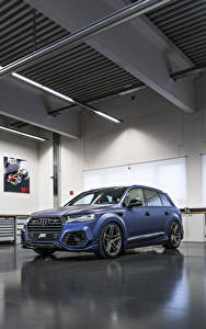Photo Audi Blue 2017-18 SQ7 ABT Vossen automobile