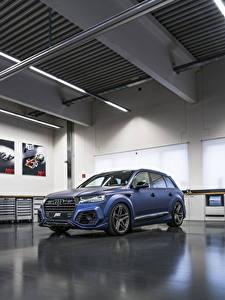 Fotos Audi Blau 2017-18 SQ7 ABT Vossen Autos