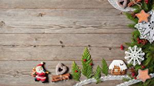 Hintergrundbilder Neujahr Backware Kekse Zimt Gebäude Bretter Ast Design Schneeflocken Herz Weihnachtsmann das Essen