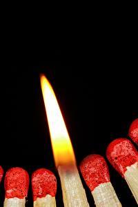 Bilder Streichholz Zündholz Großansicht Feuer