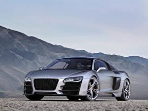 Pictures Audi Gray Metallic R8 V12 TDI Concept, 2008 Cars