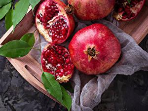 Fotos Granatapfel Getreide Lebensmittel