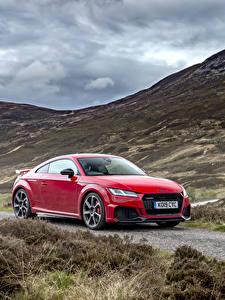Fotos Audi Coupe Rot Metallisch 2019 TT RS auto