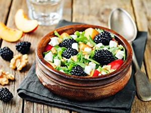 Images Salads Blackberry Bowl Food