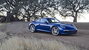 Fotos Porsche Blau Metallisch 2011 911 Carrera S Autos