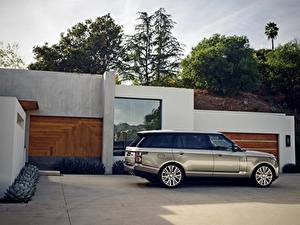 Wallpapers Range Rover Side SV Autobiography automobile