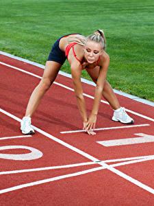 Hintergrundbilder Hand Trainieren Start Mädchens Sport