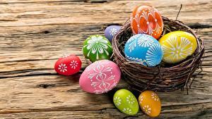 Hintergrundbilder Ostern Ei Nest Lebensmittel