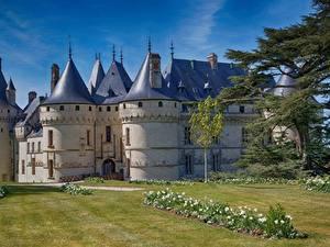 Hintergrundbilder Frankreich Burg