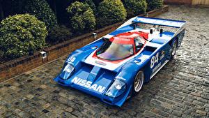 Bilder Antik Nissan Fahrzeugtuning Hellblau Metallisch 1985-91 GTP ZX-Turbo Autos
