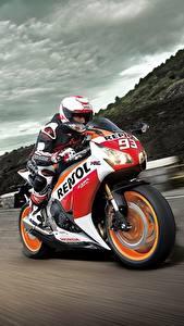 Hintergrundbilder Straße Bewegung Honda CBR1000RR Motorrad