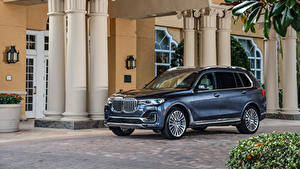 Wallpapers BMW Grey Crossover 2020 X7 xDrive40i Design Pure Excellence automobile