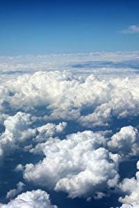 Bilder Himmel Wolke Von oben Natur
