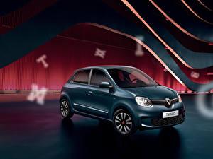 Desktop hintergrundbilder Renault Grün 2020 Twingo Signature auto