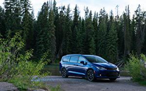 Picture Chrysler Blue Metallic