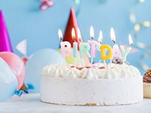 Hintergrundbilder Torte Kerzen Geburtstag Feuer Lebensmittel