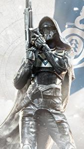 Desktop hintergrundbilder Destiny 2 Krieger Kapuze Helm Rüstung Spiele