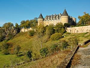 Pictures Castles France Castle Of Rochechouart, Haute-Vienne, Limousin Cities