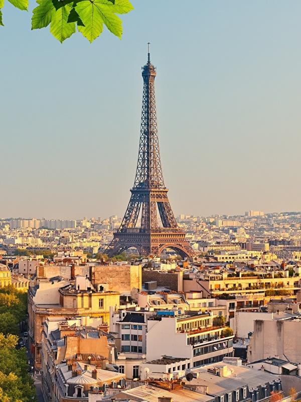 Fonds D Ecran 600x800 France Maison Paris Tour Eiffel Villes
