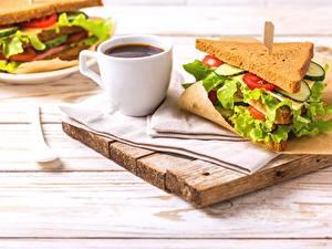 Hintergrundbilder Kaffee Sandwich Tasse Frühstück