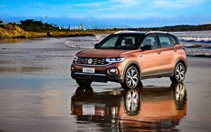 Pictures Volkswagen Brown 2019 T-Cross 250 TSI Highline Latam