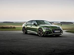 Bilder Audi Grün Metallisch RS5 Sportback, 2020 auto