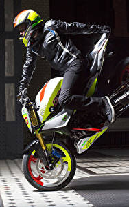 Bilder BMW - Motorrad Motorradfahrer Helm 2015 Concept Stunt G 310 Motorrad