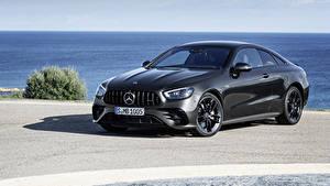 Hintergrundbilder Mercedes-Benz Grau Coupe  automobil