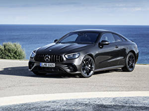 Фотография Mercedes-Benz Серый Купе 2020 E 53 4MATIC Coupé Worldwide машина